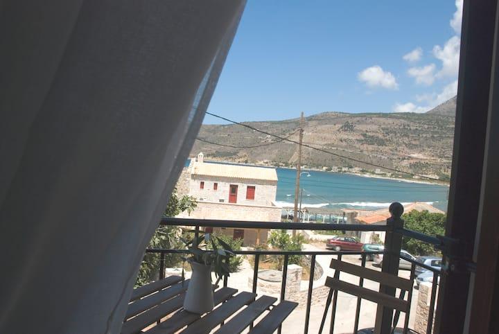 """elezar apartments """"elia"""" sea view"""