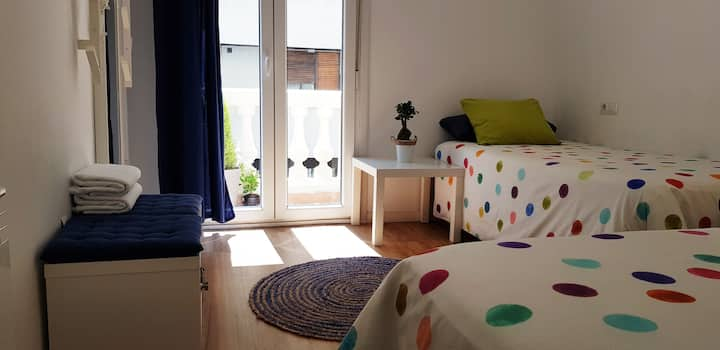 Sweet room in San Sebastián