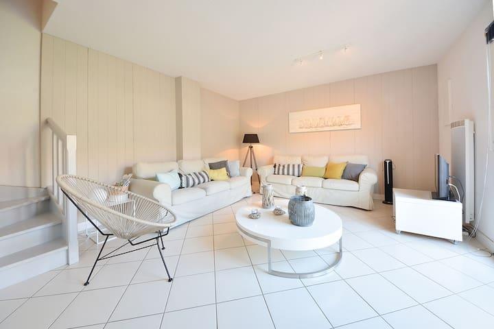Maison Cap Ferret Centre 4 Ch à 200 m plage bassin