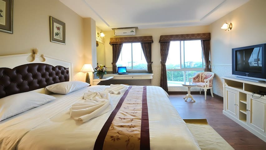 Airport Greenery Hotel & Serviced Apartment - Chiang Mai - Appartement