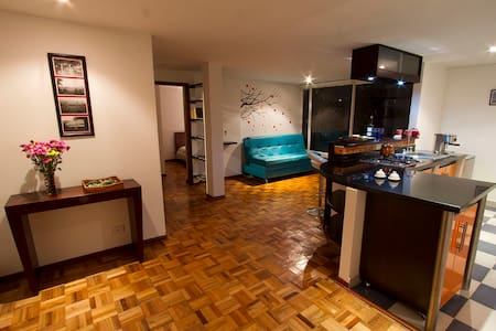 Cozy flat in Rosales, walking distance from Zona T - Bogotá - อพาร์ทเมนท์