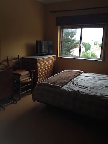 Classy and warm bedroom downtown Tondela - Tondela - Apartment