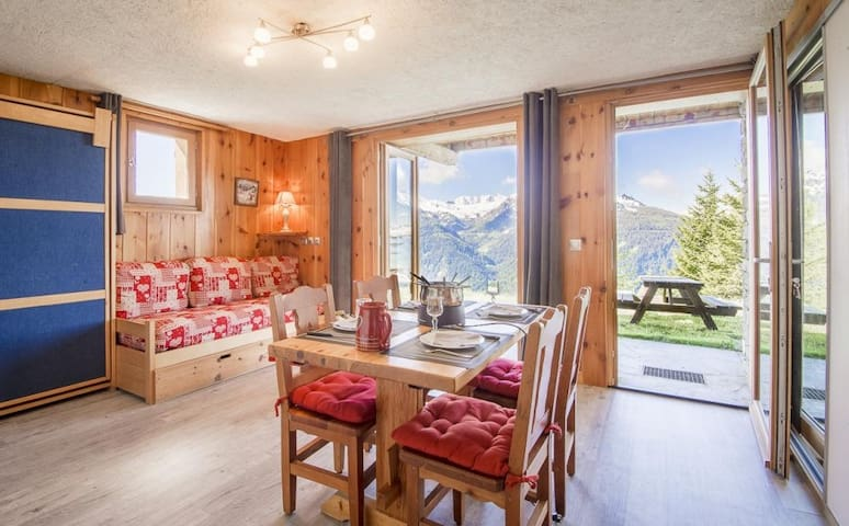Appt 3* 44m² 6 pers in chalet - La Rosière resort