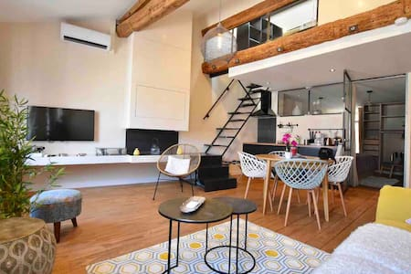 Amazing loft, 2master bedrooms 2bathrooms old town