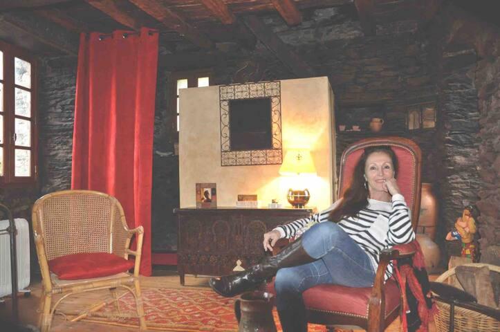En Castagniccia,chambre d hôte atypique au village