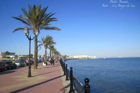 Tunis, les berges du Lac 1,S+2 ch + 1 sb+se