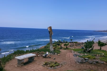 Spacios beach house, 5 min to beach - San Antonio del Mar - Casa