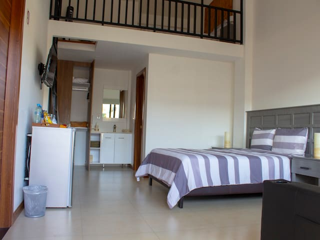 Sustainable LOFT Villa w/ mezzanine 4adults  2kids