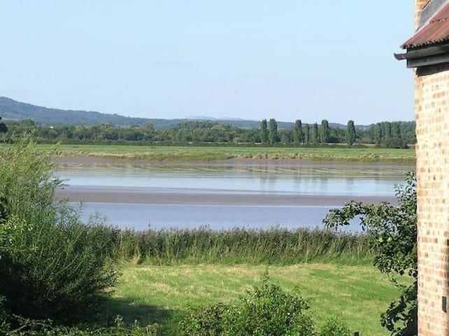 Rural cottage on the banks of the River Severn