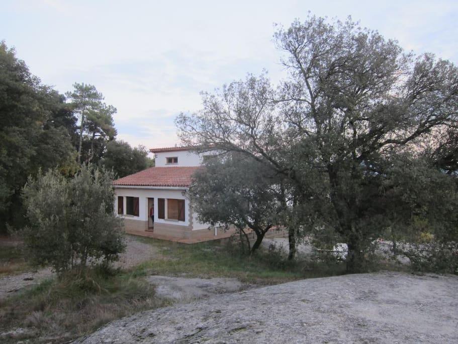 *The house view  *Vista de la casa