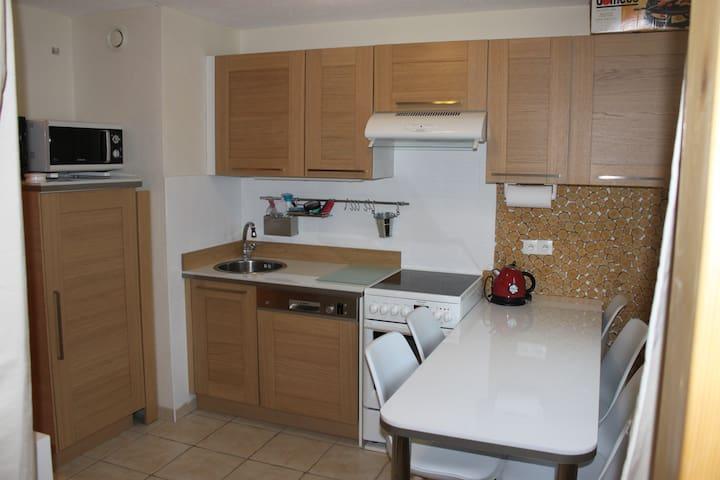 Appartement entièrement rénové de 6  personnes - Arâches-la-Frasse