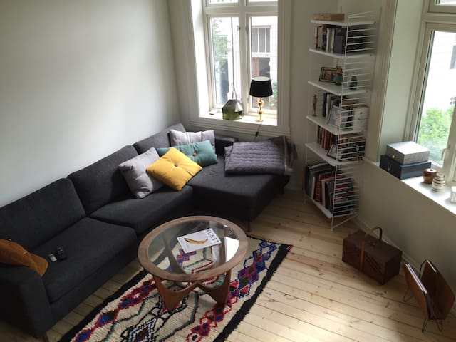 10 min from centre, upcoming area - Oslo - Apartment