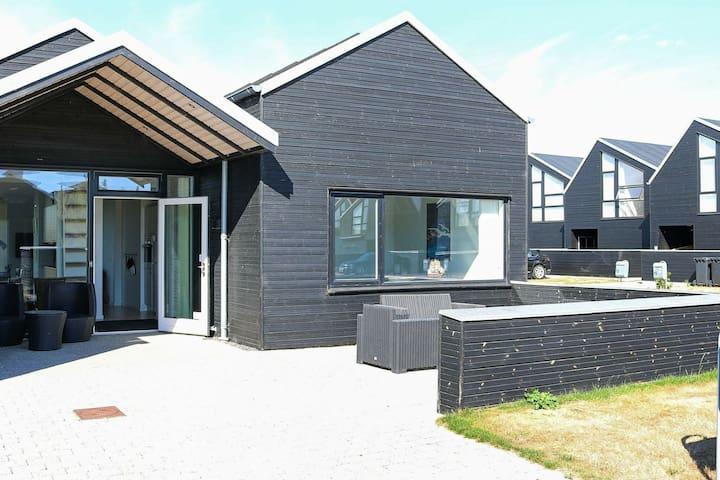 Luxueuse maison de vacances dans le Jutland avec sauna