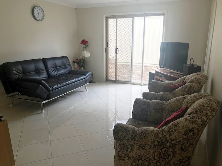 Spacious  granny flat with comfortable living