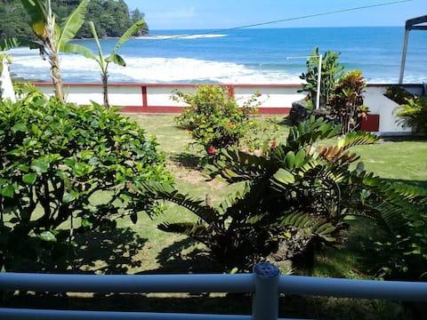 Aparts. Los Cocos 1, Playa Bonita, frente al mar.