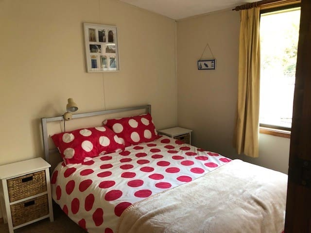 3rd Bedroom - double bed plus storage draws.  Our eldest daughter picked this room immediately!