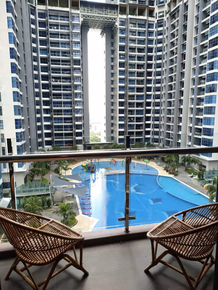 Jewels of Atlantis Melaka @ 1 bedroom #B12