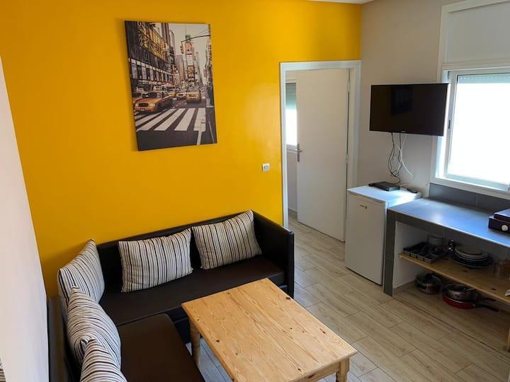 Appartement 30m2, douche, cuisine privée