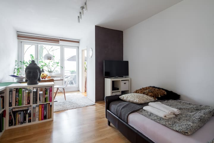 Cozy, central apartment in Munich