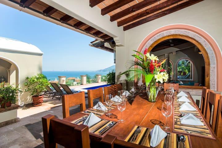 Casa Peregrina 7 Bedrooms: 115306 - Puerto Vallarta - Villa