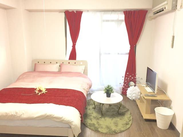 MAX3people! near Namba FREE WI-FI 401 - 大阪市 - Huoneisto
