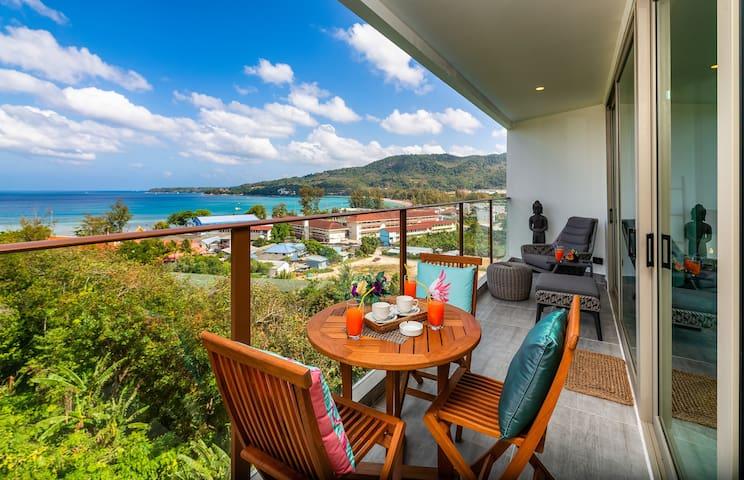 Great Seaview 1 Bedroom Apartment @Kamala - 600m