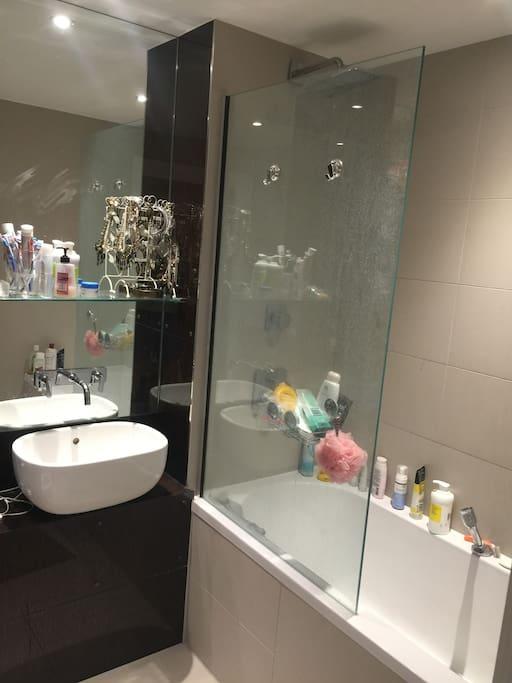 Bathroom is like a hotel