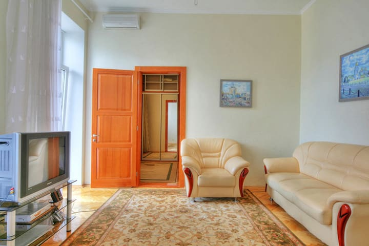 Apartment with 1 bedroom and a view to Maidan