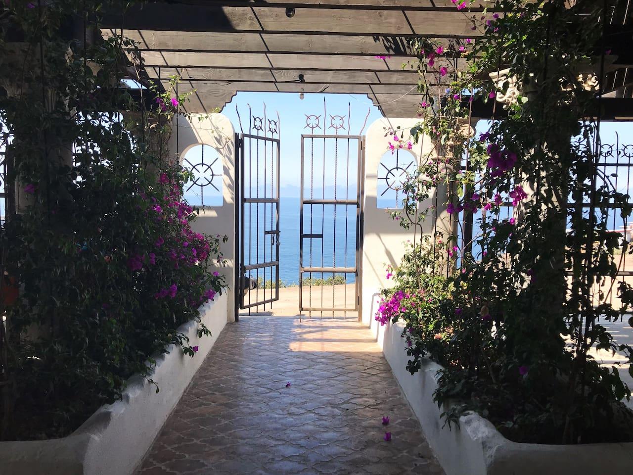 Welcome to Casa Sagrada! Take deep breaths of that sea air!