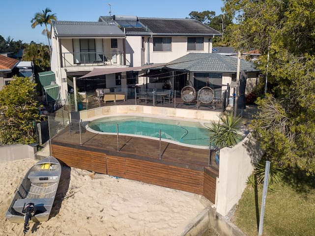 Gold Coast Waterfront Family Home