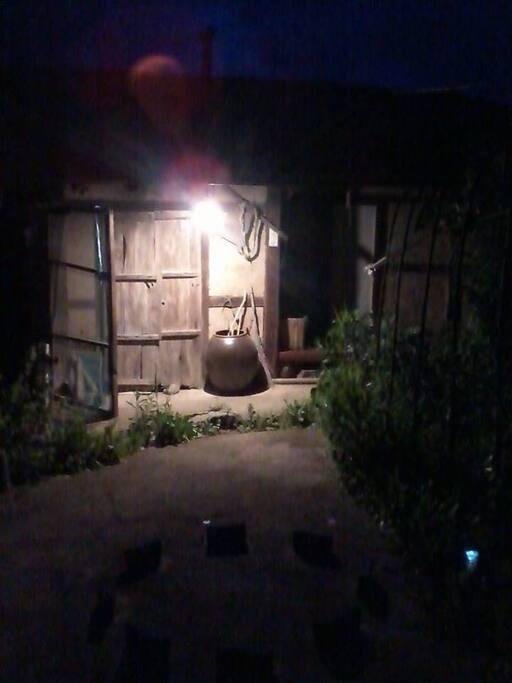night training place