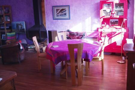 Proche centre 1, 2 ou 3 chambres. Maison partagée - Blois - Huis