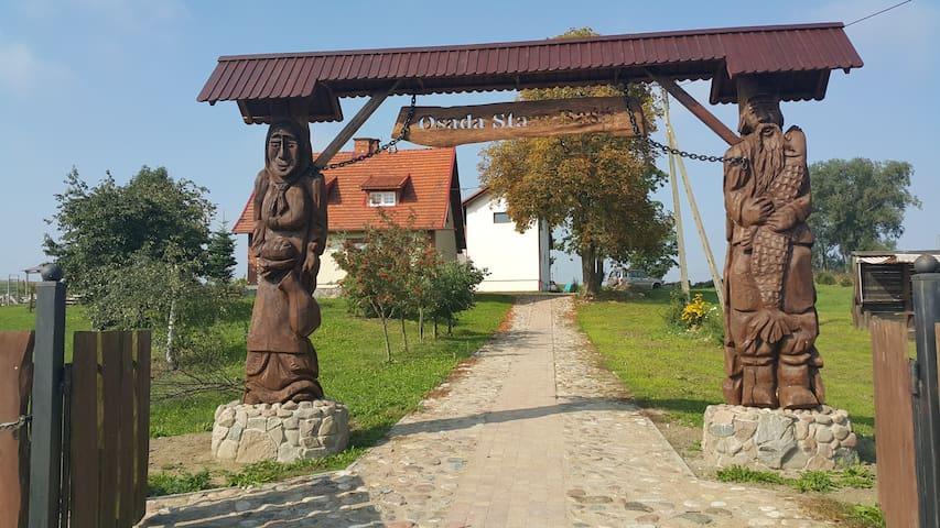 Agroturystyka w sercu Kaszub, Osada Stara Baśń - Stara Kiszewa - Pousada