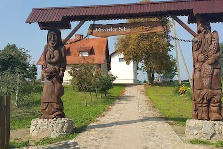 Agroturystyka w sercu Kaszub, Osada Stara Baśń - Stara Kiszewa - Bed & Breakfast