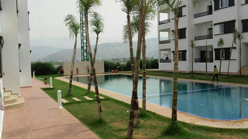 Appartement haut standing avec piscine et loisirs