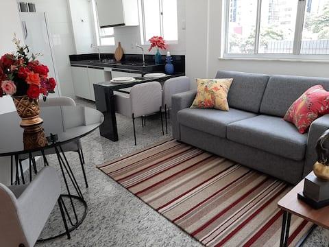 Novo apartamento na Savassi com garagem