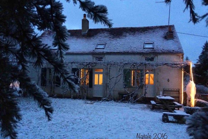 Casa in inverno