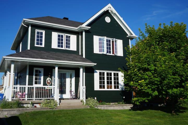 Peaceful family house near Québec City