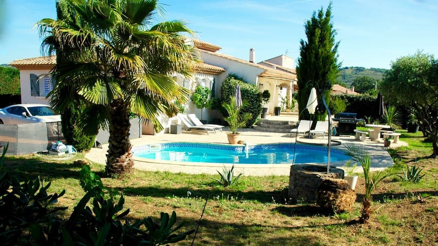House - 25 km from the beach - Pouzolles - Talo