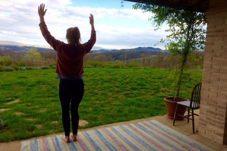 Yoga and health retreat in the Umbrian countryside - Monte Castello di Vibio - บ้าน