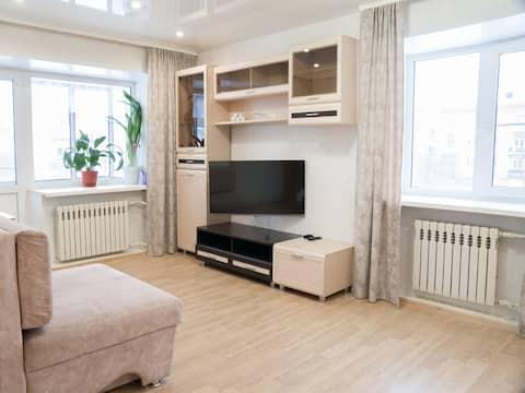 Апартаменты на въезде в г. Новокузнецк