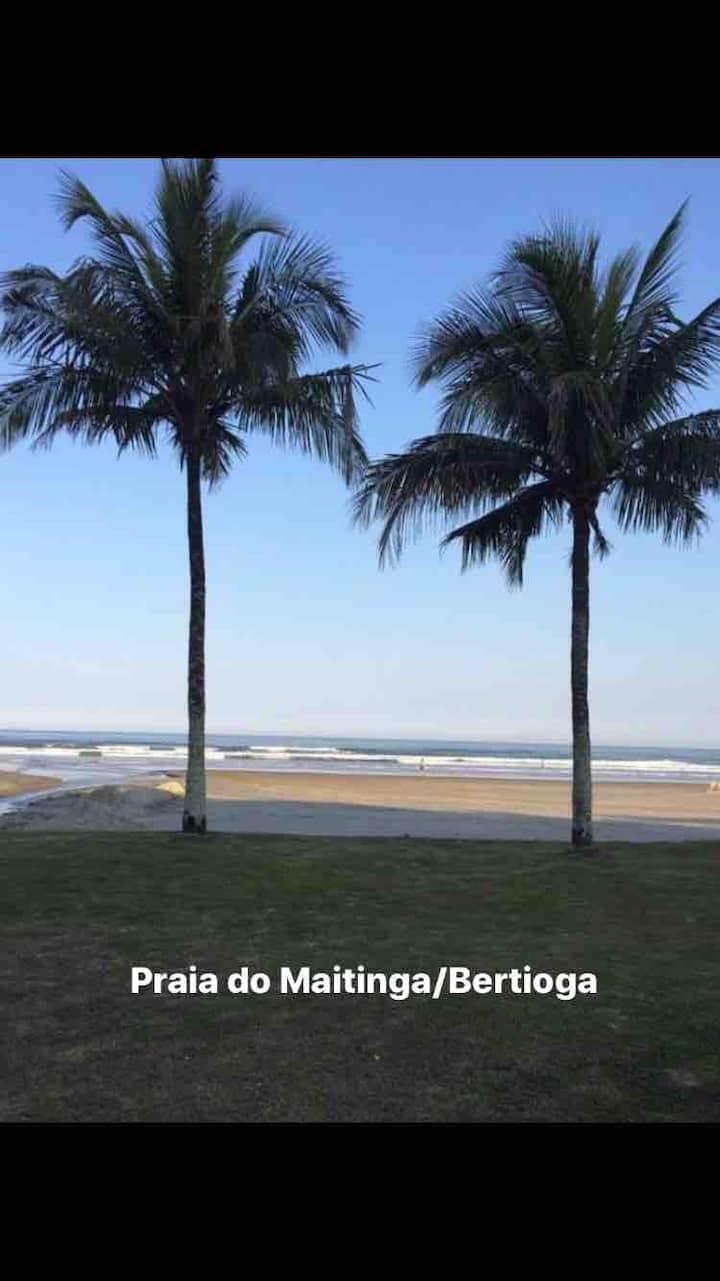 Apartamento Próximo do Sesc  Bertioga - Maitinga.
