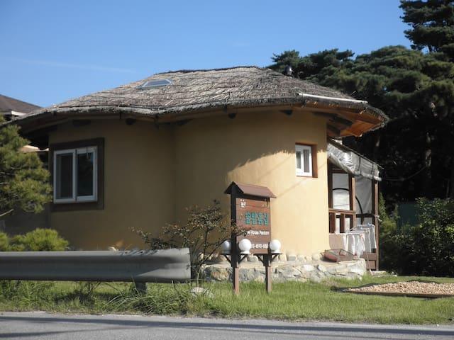 이세상에 단 하나뿐인 흙집 별채 - Okgye-myeon, Gangneung - Earth House