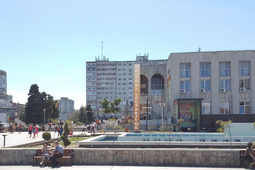 Zona Super Centrala - parcul Casa de Cultura