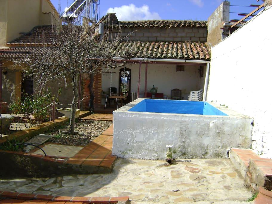 Casa rural la molina houses for rent in do a rama - Casa rural sierra morena ...
