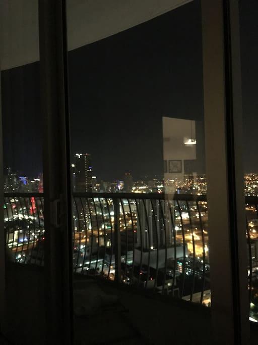Excelente vista desde la habitación.