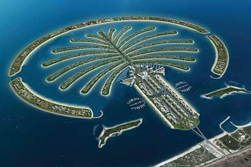 You will stay on 'the eighth wonder of the world' - the Palm Jumeirah!