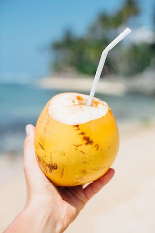 King coconut mostly for welcome drink