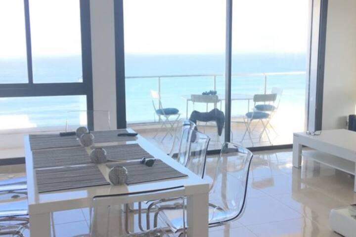 Appartement neuf, vue imprenable sur l'Atlantique