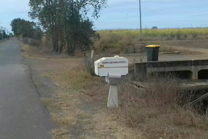 look for our letterbox on Fairydale Road.